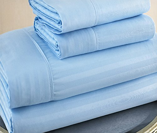 300 Thread Count Sateen 100% Cotton Sheet Set by Ruthy's Textile